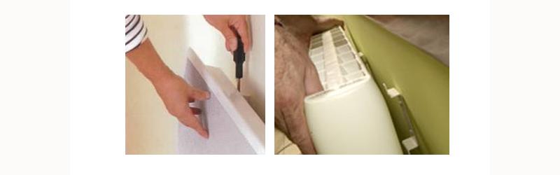 instalar un radiador electrico