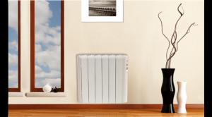 Detalle del radiador eléctrico Haverland gama RCA